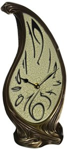 Design Toscano WU08388 Horloge sculpturale, Bronze, 10 x 16,5 x 37 cm