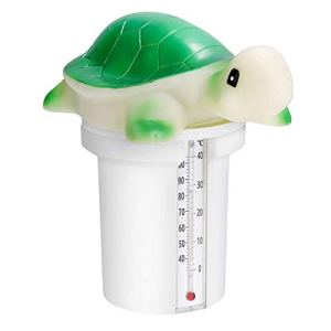 Distributeur De Piscines Chlore pour Piscine Pastille Chlore Piscine Tablette De Forme Animale avec Thermomètre pour Spa Piscine Vert
