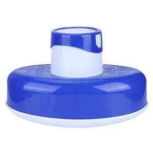 Distributeur de Produits Chimiques, Distributeur de Produits Chimiques Flottant, avec Cadran réglable de 7,7 cm, Facile à Utiliser, Piscine d'outils d'échappement de Distributeur de