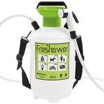 Epocaspa Freshower 7 8311.S00 – Douche Portable en Plastique, 7L, Transparente, Verte et Noir