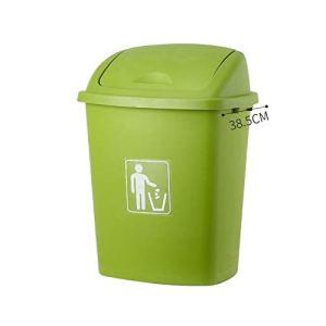 FEANG Poubelle Poubelle à Pieds de Pied de Poubelle de Poubelle de Poubelle de 70L avec Couvercle, de Grandes déchets de Recyclage de la Poubelle pour la Cuisine à la Maison Boîte à ordures