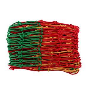 Filet anti-chute Filets de clôture Filet D'escalade Filets De Clôture Filet De Camion De Hamac Filet De Protection Contre Les Chutes Taille De Maille 10mm * 10cm Filet De Sécuri(Size:2*5m/6.6*16ft)