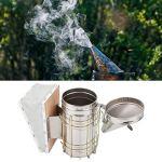 Fumeur de ruche, kit de démarrage pour l'apiculture, résistance à la corrosion sûre pour la ferme apicole eekeeper empêcher les piqûres calme les abeilles