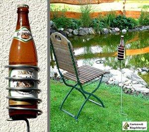 Gartenwelt Riegelsberger Lot de 5 porte-bouteilles de bière 100 cm 20008