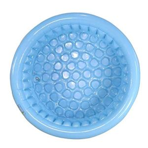 gujiu Piscine épaissie PVC Patalon, Piscine Ronde (Couleur: Bleu, Orange Taille: 130 * 130 * 45cm) (Color : 2)