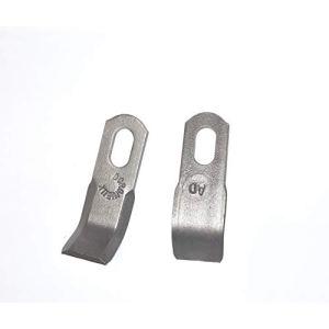 Jardiaffaires Jeu de 54 Couteaux Y 6mm Morgnieux S965.4335 pour broyeur à fléaux