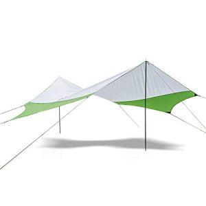 Lzcaure Voile d'ombrage hexagonale – Auvent de plage étanche UV 40 +