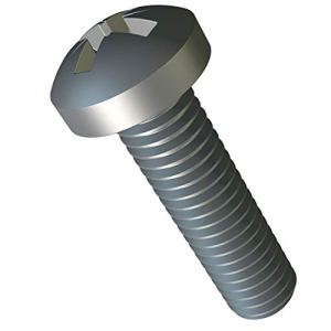 M4 x 10 mm Petite Vis à Tête Cylindrique Cruciforme Lot de 10pc ISO 7045 DIN 7985 Phillips Acier Zingué A2 vis Tete Cruciforme M4x10 mm