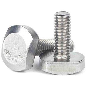 M5/m6/T-m8 shapep T style T Vis à tête boulons vis en acier inoxydable, M8x45 2Pcs, Taille unique