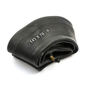 PetrolScooter Chambre à air 145 x 70 – 6 145 x 7,00-6 – 145/70-6 – 6 cm – Valve courbée de 6 cm – Tondeuse à gazon