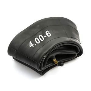 PetrolScooter Chambre à air 4,00-6 Valve Schradar courbée Tondeuse à gazon