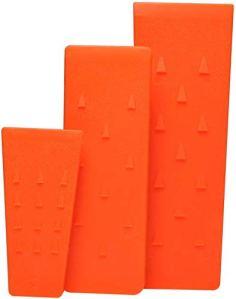 Poweka Cales en plastique ABS pour tronçonneuse 14 cm 20 cm 25 cm