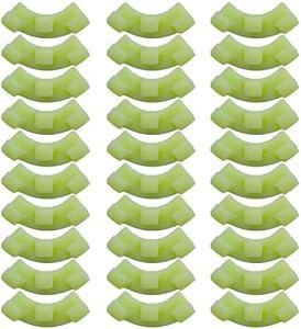 QINGYA Cintreuse de Plantes à 90 Degrés pour la Formation à Faible Stress et la Formation des Plantes Pinces à Brindilles Pinces de Dressage de Plantes de Tomates (30PCS, Green)