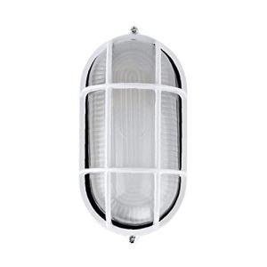 Sauna Lumière Antidéflagrant Anti-haute température ovale lampe plafond étanche lumière piscine Fournitures