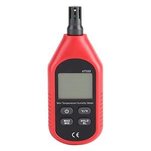 Shipenophy Thermomètre numérique hygromètre Basse énergie Puce température de l'air humidimètre Portable Longue durée de Vie thermomètre hygromètre pour réfrigérateur de Jardin de Cave