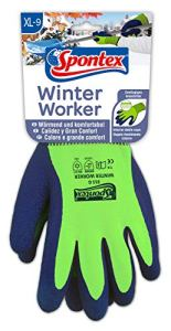 Spontex 12130169Worker d'hiver gants Taille 9