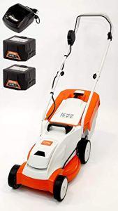 STIHL Tondeuse à gazon sans fil RMA 235 avec 2 batteries AK20 et chargeur AL101 (63112000010VC)