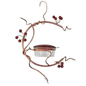 Sxiocta Hummingbird-Fearer, en Plein Air-Garten-Metall-Hängende Kolibri-Fearer, Fruchtbeeren-Vogel-Fearer, Garten-Hinterhof Dekorattiver Vogel-Fearer