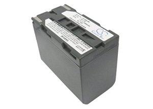 TECHTEK Batterie remplace SB-L480 Compatible avec [Leaf] AFI-II 7, Aptus 22, Aptus 65, Aptus 75, Aptus-II 10, Aptus-II 10R, Aptus-II 12, Aptus-II 5, Aptus-II 6, Aptus-II 7A, ptus-II 8, pour [Samsung]