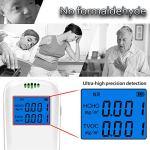 Testeur de qualité de l'air CO2 TVOC HCHO Appareil de mesure de la température et de l'humidité HCHO