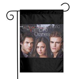 The Vampire Diaries Guirlande de fanions en tissu vintage Motif hirondelle 30,5 x 45,7 cm