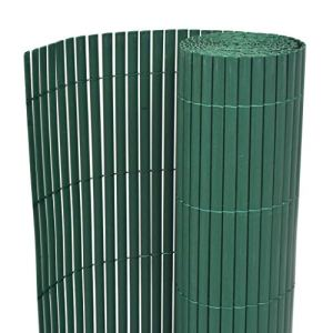 Tidyard Clôture de Jardin Double Face Solide et Durable Style Moderne Vert 170 x 300 cm