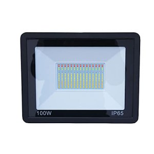 WishHome Tuya Projecteur intelligent à LED 100 W IP65 étanche pour l'extérieur Compatible avec passerelle Zigbee Compatible avec contrôle par application sur smartphone