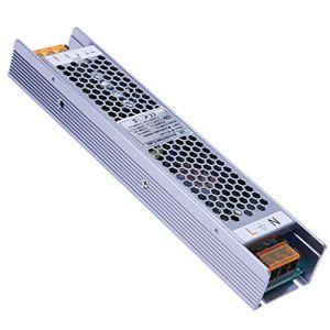 YAYZA! LED Basse Tension Compact IP20 12V 8.3A 100W Dimmable Power Supply AC Transformateur CC Adaptateur de Module PSU Prend en Charge le Contrôle d'éclairage de Gradation 2 en 1 TRIAC et 0-10V