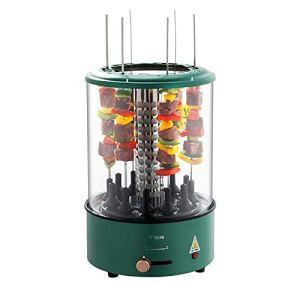 YJPQ Barbecue électrique Intérieur 100w Un Barbecue Rotation Automatique Pas De Fumée température Constante Intelligente