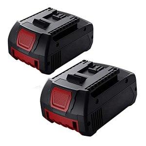 2X Dosctt 18V 5.5Ah Batterie BAT618 Remplacement pour Bosch Batterie BAT609 BAT618 BAT618G 2607336092 BAT610G BAT609G BAT619 BAT619G