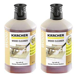 2x Kärcher RM 612 Nettoyant bois 3 en 1 pour nettoyeurs haute pression (1000ml)