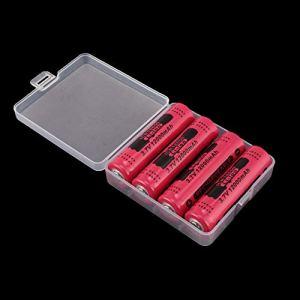 4 pièces GTL18650 batterie au Lithium Rechargeable 12000mAh 3.7V batterie Li-ion pour lampe de poche torche 18650 Batteries Li-ion