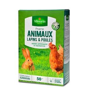 Agro Sens Prairie Verte Jardin, spécial Lapins et Poules. 50 m²
