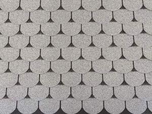 Bardeaux de toit 24 m² en castorine gris (8 paquets) bardeaux en carton de toit en flanelle