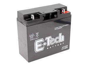 Batterie gel 12V 20Ah adapté pour Hecht 5092 Tracteur de pelouse