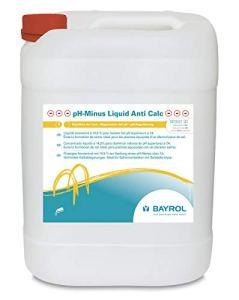 Bayrol Liquid Anti Calc 20 L pH Minus Liquide Blanc