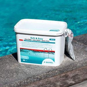 Bayrol Soft & Easy Granulés d'oxygène Actif Blanc 5,04 kg