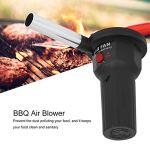 Beisha Ventilateur à air pour Barbecue, Ventilateur Portable léger de 5 V pour Ventilateur de Barbecue avec câble USB pour la Cuisson en Plein air