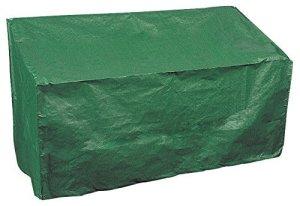 Bosmere Products Ltd P410Protection d'écran Plus Banc 3Places Réversible–Vert/Noir