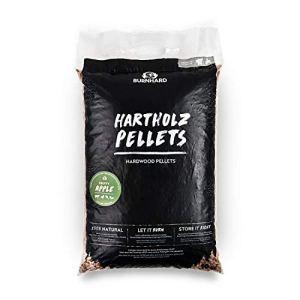 BURNHARD pellets en Bois de Pommier Pur fumoir, Barbecue ou Four à Pizza à pellets Smoke Wood