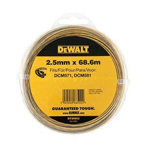 DeWalt dt20652-qz–Bobine de Hilo 2,5mm x 68.6m para desbrozadoras DEWALT dcm561, dcm571, dcm581