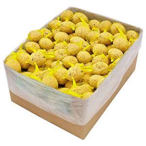 E E-NICES Lot de 200 boules de graisse avec filet 90 g