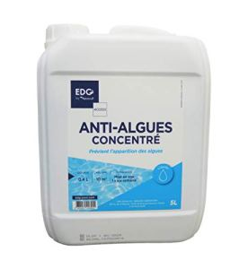 EDG Anti Algues Piscine – Préventif Anti Eau Verte et Eau Trouble – Liquide – Bidon 5 litres – Gamme Traitement Piscine Access