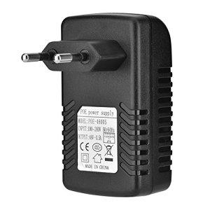 Exliy Injecteur POE, Alimentation POE avec Prise Murale, Adaptateur POE Compatible avec téléphone IP et Point d'accès sans Fil, injecteur POE pour téléphone IP(UE)