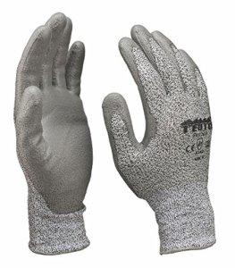Gants de protection pour découpe Gants de travail Montage Cuisine Gants Classe de protection 3Taille 9/24paires