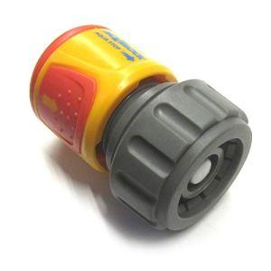 Hozelock Conector AquaStop (19 mm) Soft Touch, Estándar