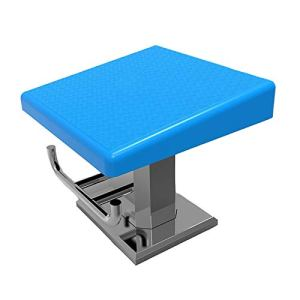 HYDT Plongeoir Plate-Forme de Saut de Compétition en Piscine, Planches de Plongée Antidérapantes avec Base en Acier Inoxydable, Bloc de Départ de Plongée Robuste