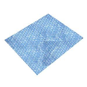 Jiaojie Bâche de protection solaire rectangulaire pour piscine – Film isolant noir – Film solaire pour chauffage de piscine