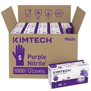 Kimtech Nitrile Paire de gants réversibles en nitrile – Violet, S, 1000