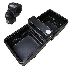 Kingspan Titan Abreuvoir pour cheval/bétail 136 litres avec coude femelle Philmac 20 mm x 1/2″
